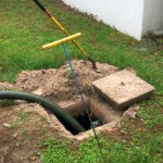 septic tank location